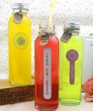 250ml vendem por atacado o frasco bebendo de vidro, recipiente de vidro da água, empacotamento do suco