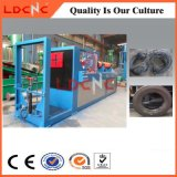 Scarto/spreco/trinciatrice di gomma usata del pneumatico che ricicla la riga della strumentazione con alta efficienza