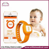 Baby-Uhr-Thermometer Digital-Bluetooth drahtloser intelligenter mit Cer-Markierungen