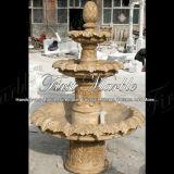Fontana di marmo Mf-107 del calcio dell'oggetto d'antiquariato della fontana del granito della fontana della pietra della fontana