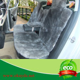 Tampa de assento cortada do carro da pele de carneiro de lãs
