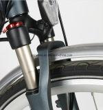 Bici eléctrica de la ciudad delantera del motor de 26 pulgadas