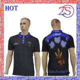 卸し売り高品質によって昇華させる乾燥した適合の人のゴルフポロシャツ