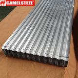 Prezzo ondulato dello strato del ferro di strati del tetto con gli strati Meatal dello zinco per costruzione