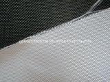 Encanamento que envolve a tela da fibra de vidro