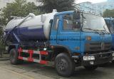8000 L 진공 탱크 트럭 8m3 흡입 트럭 가격