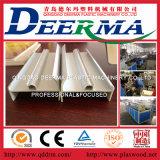 플라스틱 PVC 관 WPC 단면도 PVC 기계를 만드는 빈 지붕 장 PVC 거품 널 압출기