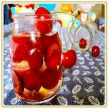 Законсервированная еда законсервированного плодоовощ вишен Pickled