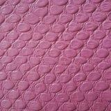 大蛇の皮は荷物袋革PVC革を並べる