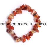 Het semi Amethist van het Kristal van de Edelsteen Natuurlijke breekt de Getuimelde Charmante Juwelen van de Armband af