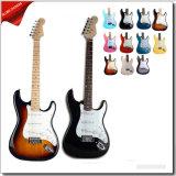 A melhor venda e guitarra elétrica colorida popular do St