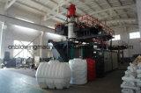 Máquina plástica del moldeo por insuflación de aire comprimido del HDPE de la protuberancia con la pista del acumulador