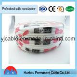 185mm2 núcleos redondos de borracha flexíveis gerais Epr do cabo 4 da borracha de silicone do cabo H05rnh2-F H05rr do cabo H07rn-F