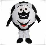 Grande mascotte della testa di gioco del calcio di grande formato molto popolare