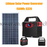 150wh de draagbare ZonneMacht Suply van de Generator van de Omschakelaar met Ce/FCC/RoHS