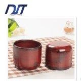 주문 향수 Handmade 나무로 되는 포도주 컵 선전용 선물