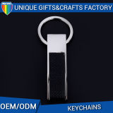 Metallo promozionale Keychain di cuoio su ordinazione del regalo di alta qualità all'ingrosso
