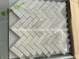 Mattonelle di marmo bianche del diamante Polished poco costoso cinese di promozione