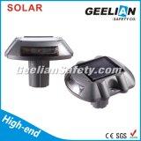 Do refletor leve vermelho 3m do diodo emissor de luz do olho de gato parafuso prisioneiro solar de alumínio da estrada