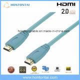 Prijs van de Fabriek van de Kabel HDMI van de hoge snelheid 24k de Gouden