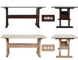 固体木の食事の机(M-X2178)