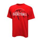 T-shirts chauds de basket-ball de vente formant le logo de chemise sur l'avant