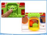 A instrução musical educacional da casa do macaco obstrui brinquedos