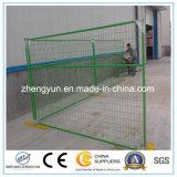 최신 판매 좋은 품질 PVC 입히는 임시 캐나다 담