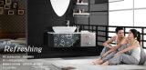 Schwarze Farben-Edelstahl-Titanplatte des Spiegel-304 für Innenraum