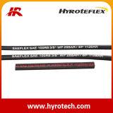 Tuyau hydraulique SAE 100 R6 et tuyau à haute pression de pétrole