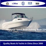 Barco de pesca del barco del deporte de Bestyear 22h