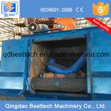 Máquina del chorreo con granalla de la correa eslabonada/tipo equipo de la caída del chorreo con granalla