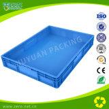 Caixa plástica da modificação 800*600*120 para o transporte