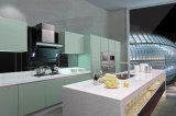 Gabinete de cozinha moderno da laca da alta qualidade 2017 (kq-002)