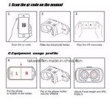 """2016 vidros de vidro da caixa 3D de Vr do filme dos jogos dos filmes 3D 3D de Vr da realidade virtual de produtos novos para 4.7 """" - 6.0 """" Smartphone"""