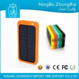 5000 Carregador solar portátil colorido Banco Mini bolso Energia