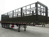 반 Chhgc 고품질 3 차축 거위 목 모양의 관 말뚝 트레일러