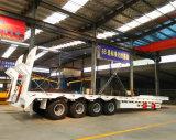 De hydraulische Semi Aanhangwagens van de Vrachtwagen Lowbed van de Helling 80tons voor Verkoop