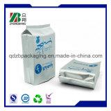 Zoll gedruckte Heißsiegel-Aluminiumfolie-Beutel mit Riss-Kerbe