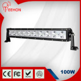 100W diodo emissor de luz poderoso Light Bar para Pickup Jeep com Adjustable Brackets