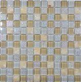 30X30組合せカラー浴室のガラスモザイク、ガラスタイル