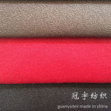 Breve Pile Polyester Suede Fabric Compound per Decoration