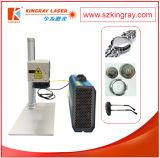 Machine portative d'inscription de laser de fibre pour la caisse de laser de fibre