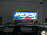 Het LEIDENE Transparante die RGB Scherm WiFi van het Scherm voor Auto's, het Scherm van de Reclame van de Taxi wordt gecontroleerd