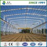 Colorer l'entrepôt de structure métallique de tôle d'acier à vendre