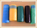Мешок отброса изготовленный на заказ крена печатание пластичного плоский