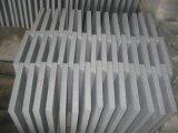 Azulejos grises de la piedra del suelo del granito G654 para el cuarto de baño/la cocina