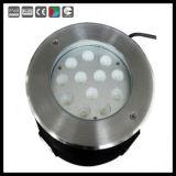 RGB LEDのリモート・コントロール水中ライト