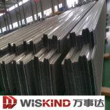 Tôle d'acier ondulée imperméable à l'eau de matériau de construction