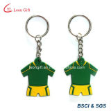 3D Sport Shape Highquality Rubber Keychain